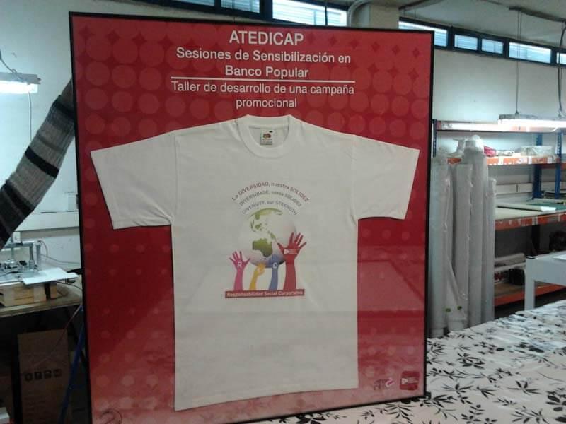 atentis camisetas solidarias