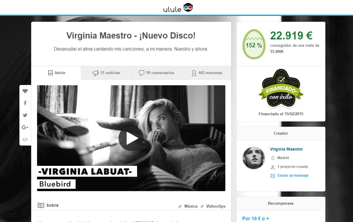 Ulule primera plataforma crowdfunding España